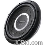 JCBid.com online auction Pioneer-ts-sw3001s4-12-1200-watt-shallow-subwoofer