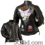JCBid.com online auction Ladies-leather-moto-jacket-l
