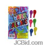 JCBid.com online auction Water-balloons-display-case-of-96-pieces