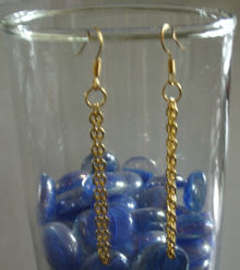 JCBid.com Gold-plated-earrings