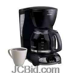 JCBid.com Mr-Coffee-12-Cup-Programmable-Coffee-Maker-Black-