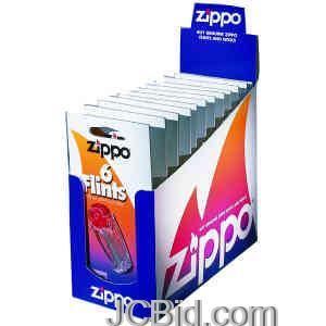 JCBid.com Flints-Card-of-6-ZIPPO-Model-2406N576