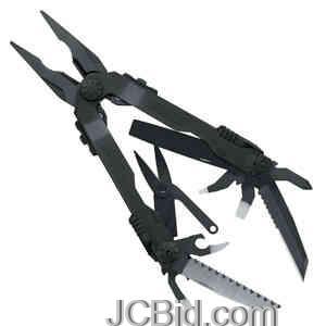 JCBid.com Diesel-Multi-Plier-Black-Handle-Nylon-Sheath-GERBER-Model-1545
