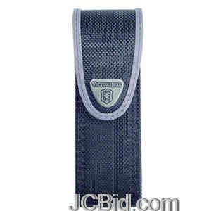 JCBid.com SwissTool-Belt-Pouch-Nylon-Black-VICTORINOX-Model-33245