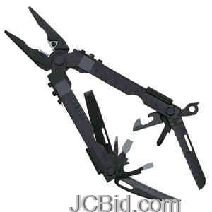 JCBid.com Multi-Plier-600-Black-wCarbide-Insert-Cutters-Sheath-GERBER-Model-07550G