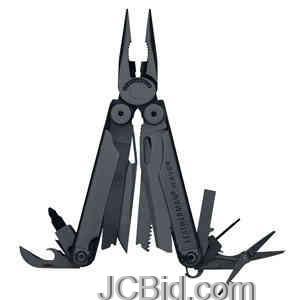 JCBid.com Black-Wave-Black-Tactical-Sheath-LEATHERMAN-Model-830246