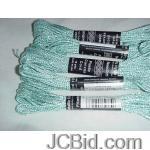 JCBid.com 3-Hank-Needloft-10-yard-Craft-Cord-Soft-GreenDark-Green-shimmering-