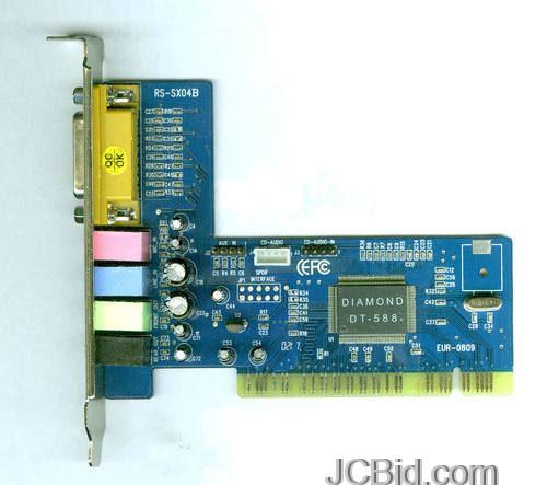 JCBid.com DIAMOND-Sound-Card-DT-588-PCI