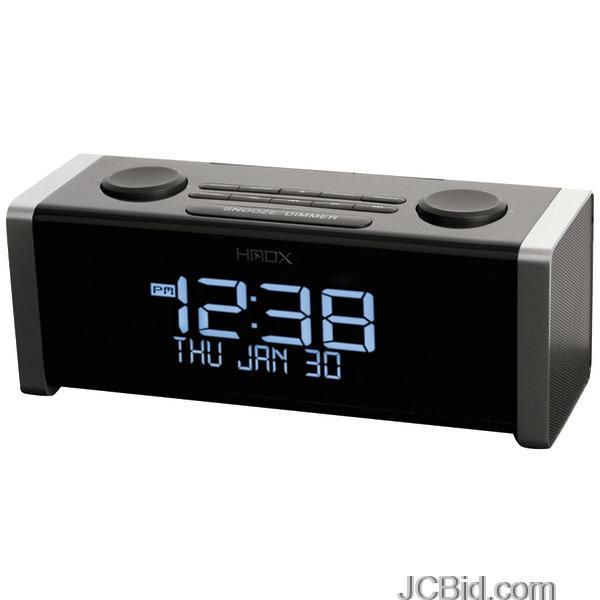 JCBid.com Homedics-Hx-b440-Hmdx-Wireless-Dual-Alarm-Clock-Radio