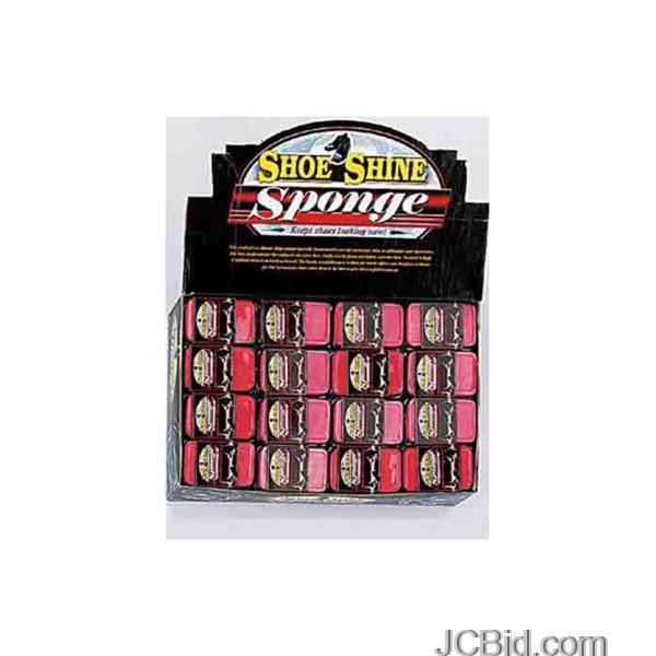 JCBid.com Shoe-Shine-Sponge-Counter-Top-Display-display-Case-of-96-pieces