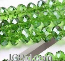 JCBid.com Crystal-Gemstone-Beads-4x6mm-35-pc