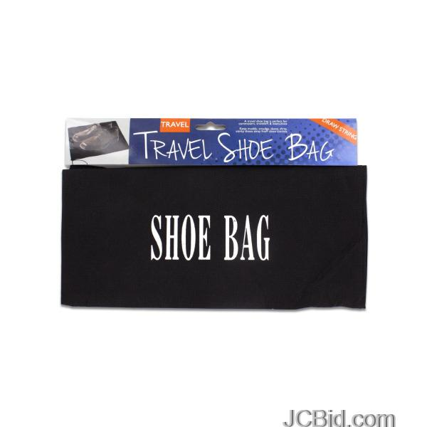 JCBid.com Drawstring-Travel-Shoe-Bag-display-Case-of-60-pieces