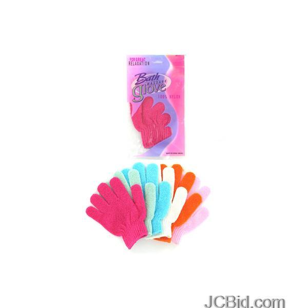 JCBid.com Bath-Massage-Glove-display-Case-of-108-pieces