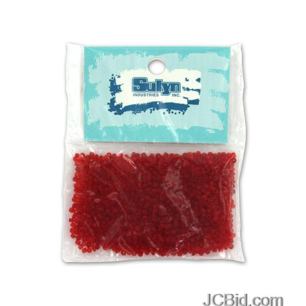 JCBid.com Red-Seed-Beads-display-Case-of-228-pieces