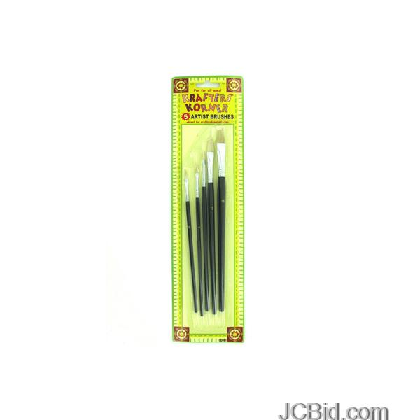 JCBid.com Acrylic-Artist-Brushes-Set-display-Case-of-84-pieces