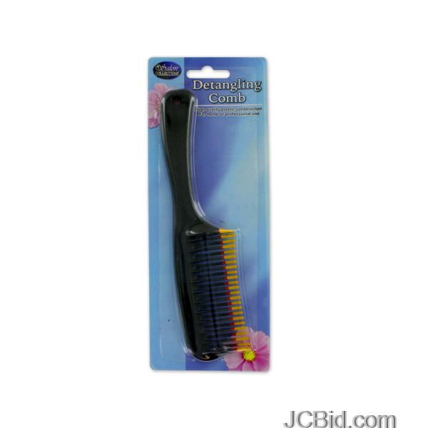 JCBid.com Detangling-Comb-display-Case-of-60-pieces