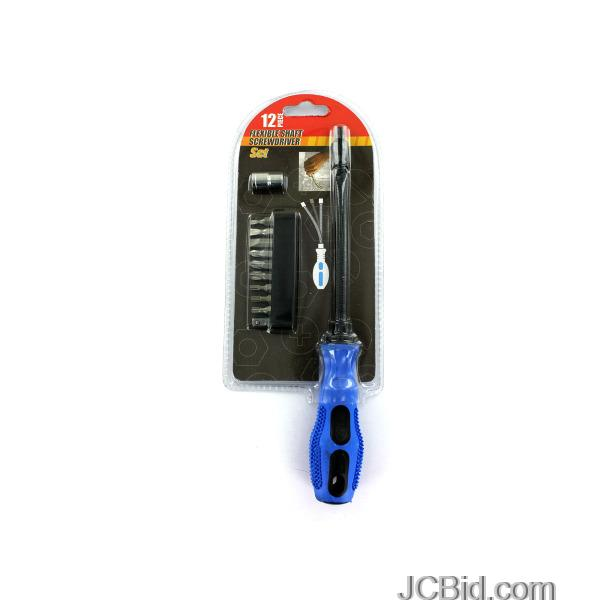 JCBid.com Flexible-Shaft-Screwdriver-Set-display-Case-of-24-pieces