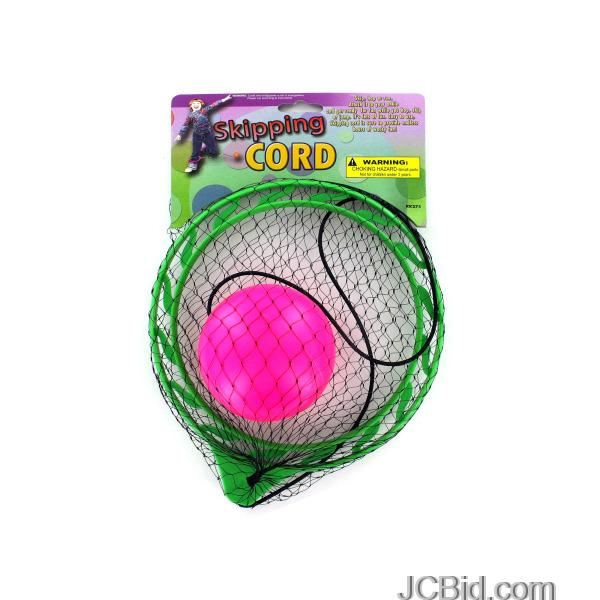 JCBid.com Skip-Cord-with-Ball-display-Case-of-72-pieces