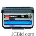 JCBid.com Solitaire-Flashlight-Blue-Presentation-Box-MagLite-Model-K3A112