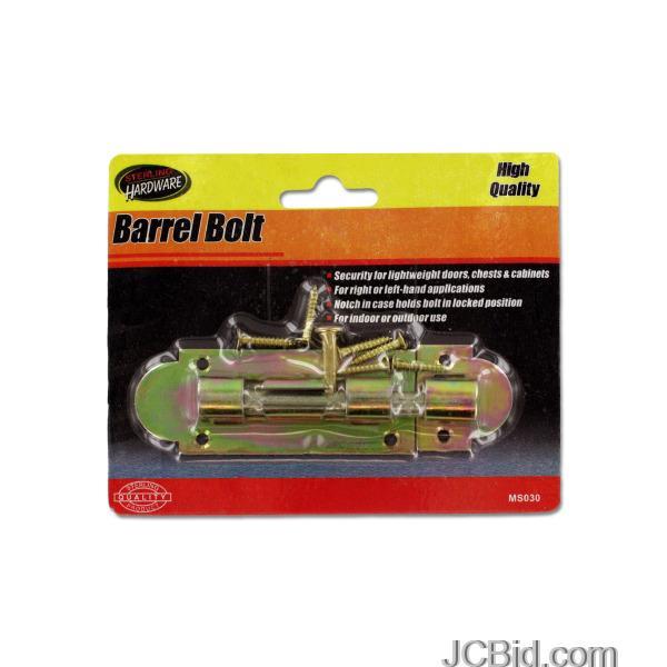 JCBid.com Barrel-Bolt-display-Case-of-96-pieces