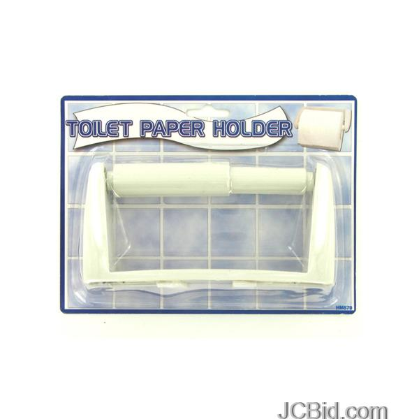 JCBid.com Toilet-Paper-Holder-display-Case-of-72-pieces