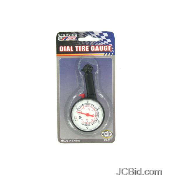 JCBid.com Dial-Tire-Gauge-display-Case-of-60-pieces