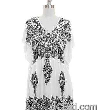JCBid.com White-Tunic-top-dress