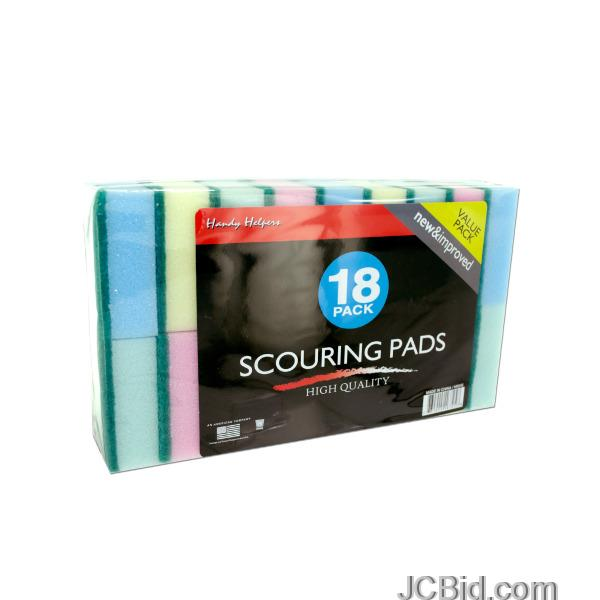 JCBid.com Scouring-Sponge-Pads-Set-display-Case-of-36-pieces