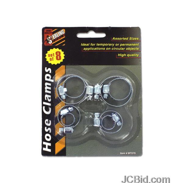 JCBid.com Hose-Clamps-display-Case-of-72-pieces