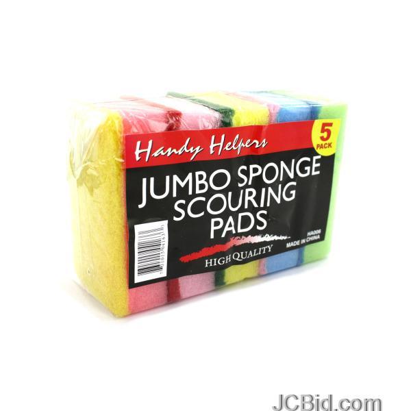 JCBid.com Scouring-Sponge-Pad-Set-Countertop-Display-display-Case-of-48-pieces