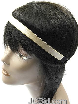 JCBid.com Metallic-Two-Tone-Headband