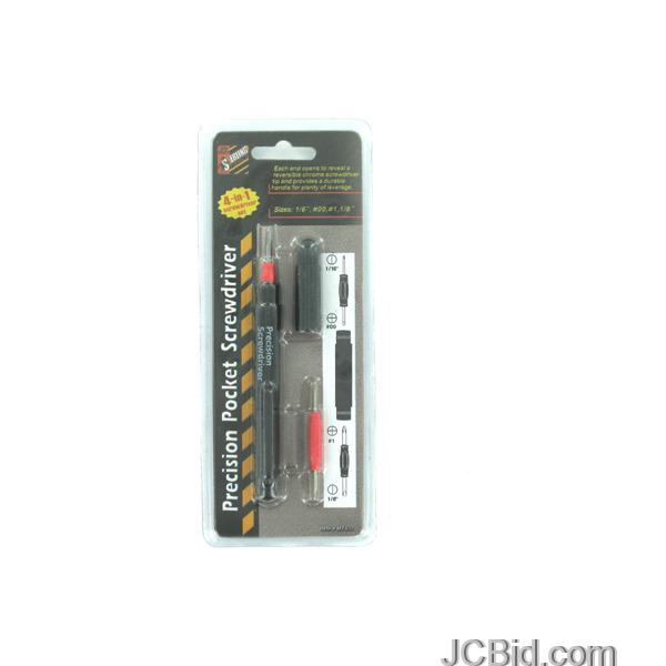 JCBid.com 4-in-1-Precision-Pocket-Screwdriver-display-Case-of-84-pieces