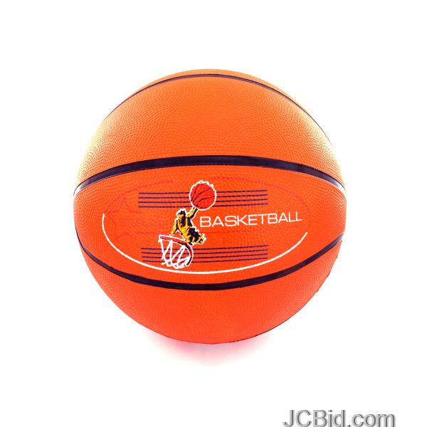 JCBid.com Rubber-Basketball-display-Case-of-12-pieces