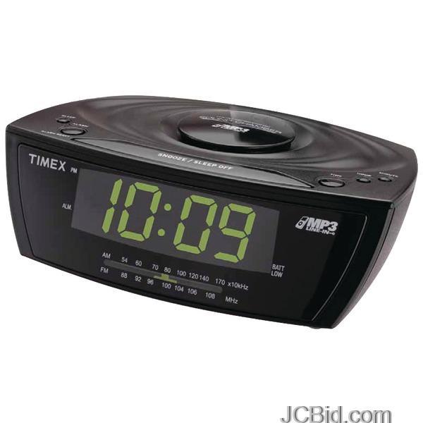 JCBid.com TIMEX-T227BQ-LARGE-DISPLAY-ALARM-CLOCK-RADIO