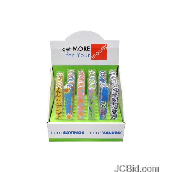 JCBid.com Stylish-amp-Fun-Nail-Files-Countertop-Display-display-Case-of-120-pieces