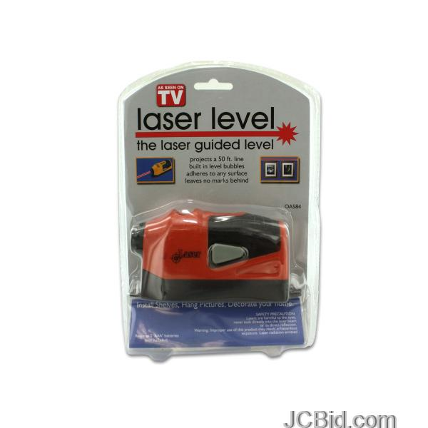 JCBid.com Laser-Guided-Level-display-Case-of-24-pieces