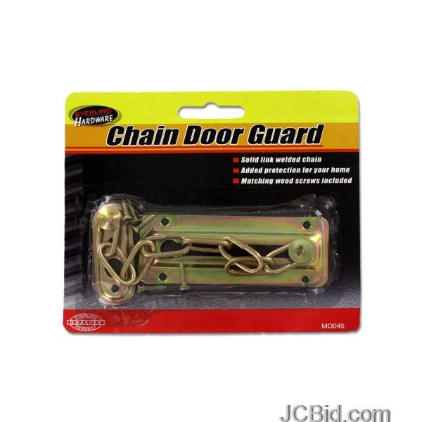 JCBid.com Chain-Door-Guard-with-Screws-display-Case-of-96-pieces