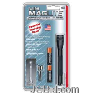 JCBid.com Minimag-AAA-Blister-Pack-Black-MAGLITE-Model-M3A016