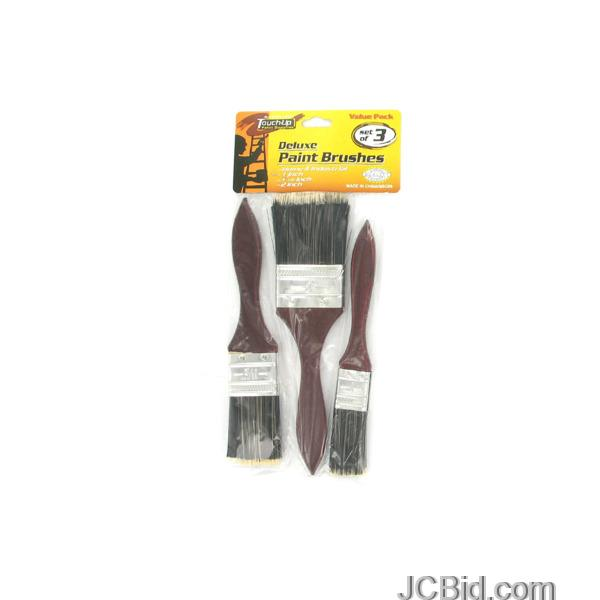 JCBid.com Deluxe-Paint-Brushes-display-Case-of-72-pieces