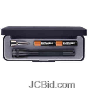 JCBid.com Minimag-AAA-Gift-Box-Black-MAGLITE-Model-M3A012