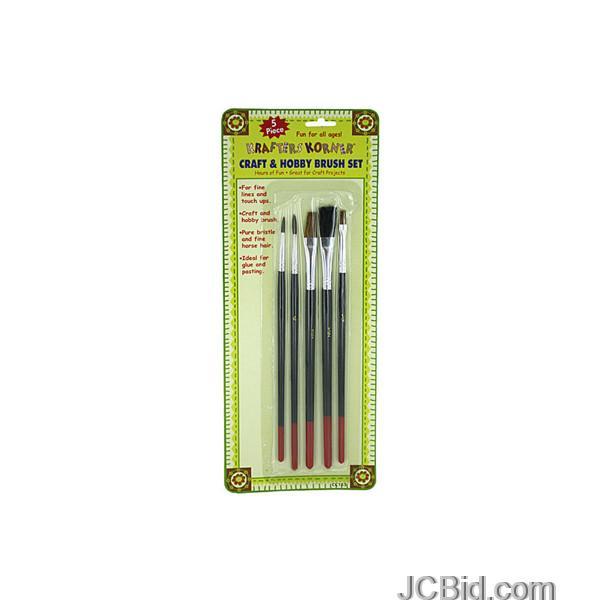 JCBid.com Craft-amp-Hobby-Brush-Set-display-Case-of-72-pieces