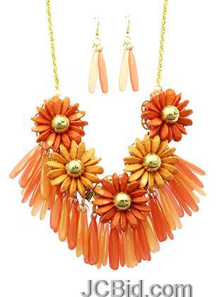 JCBid.com Spring-Color-Necklace-set