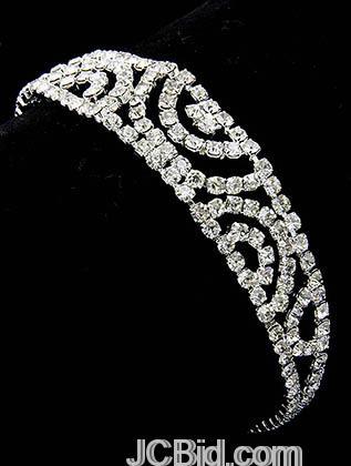 JCBid.com Wedding-Rhinestone-Bracelet