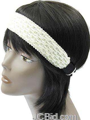 JCBid.com Fancy-head-band-in-white