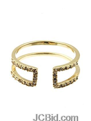JCBid.com Cuff-Ring-in-Gold-tone