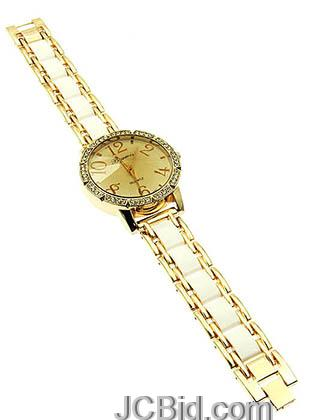 JCBid.com Stunning-watch-in-golden-color