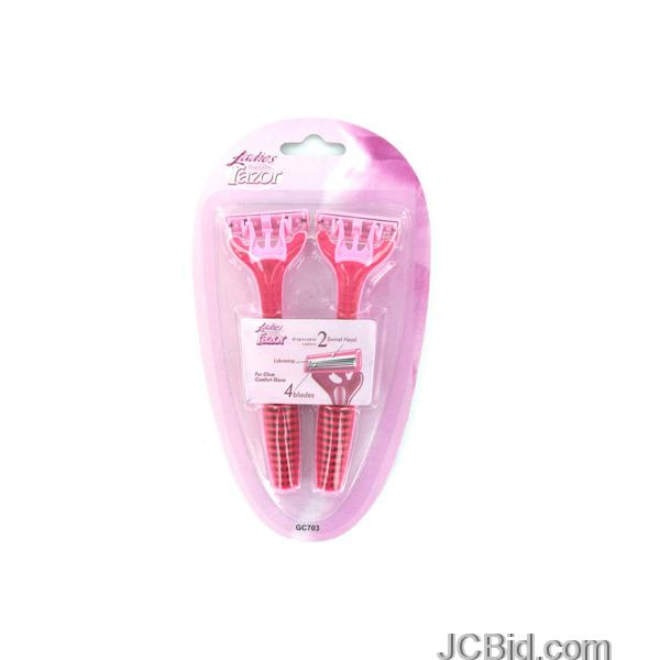 JCBid.com Ladies-Disposable-Razor-Set-display-Case-of-84-pieces