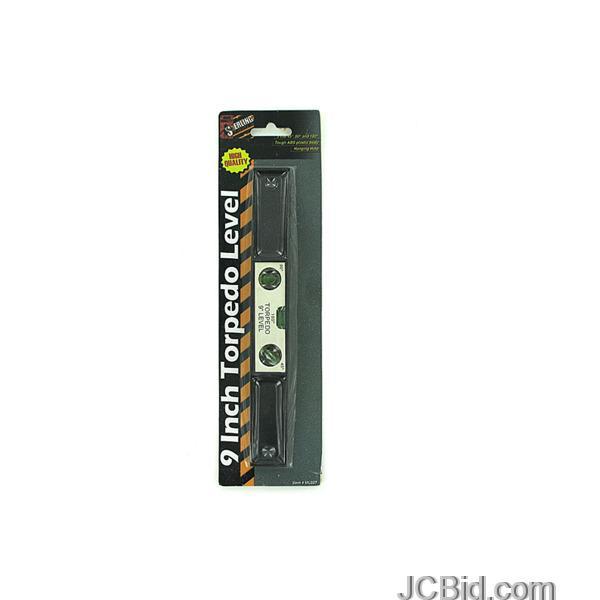 JCBid.com Torpedo-Level-display-Case-of-72-pieces