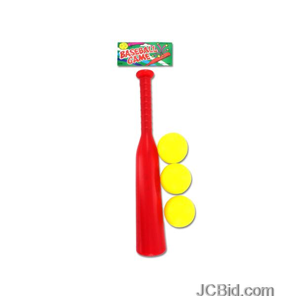 JCBid.com Plastic-Baseball-Set-display-Case-of-48-pieces