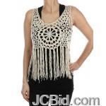 JCBid.com Crochet-crop-Top